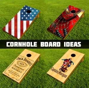 Cornhole Board Ideas